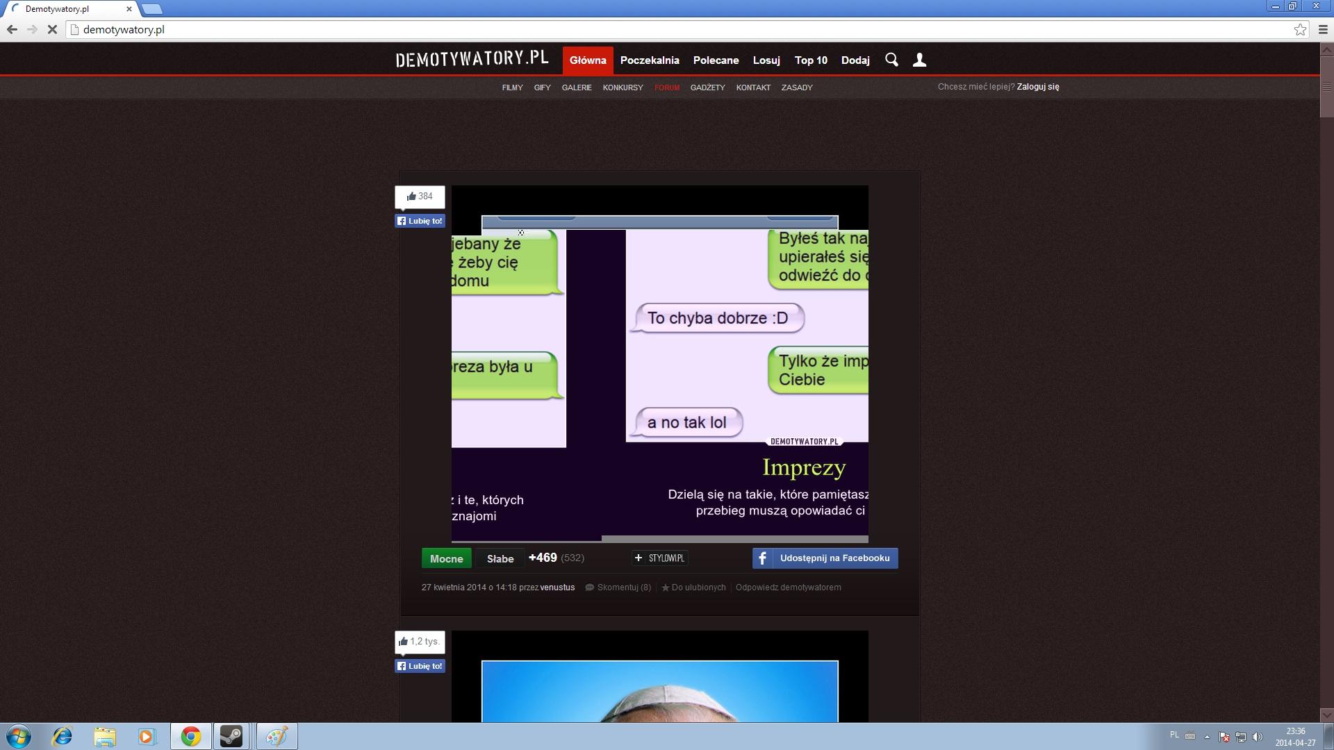 Win7 - Zniekszta�cenia obrazu, niedo�adowywanie si� stron itp