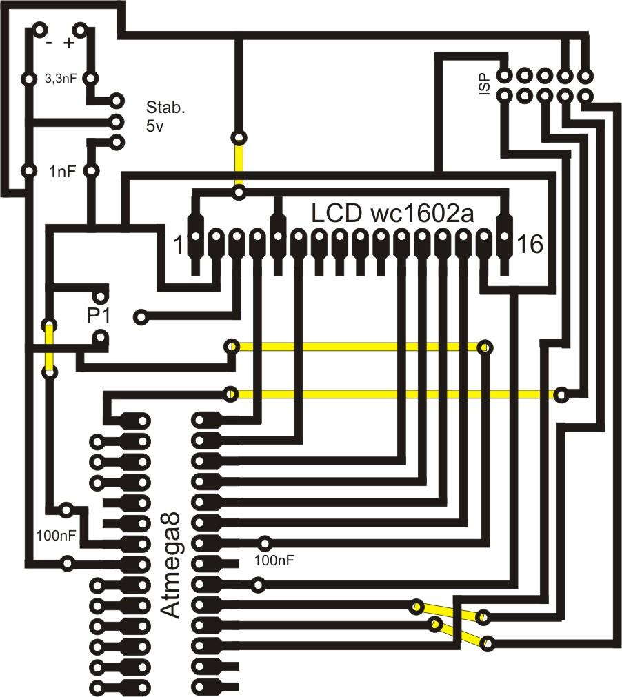 [atmega8] Pro�ba o sprawdzenie schematu (pcb)