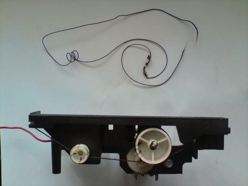 Unitra MK 2500 Automatic GRUNDIG - zerwana linka skali
