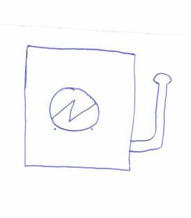 Lampa UV-maszyna do druku - zagadkowy symbol