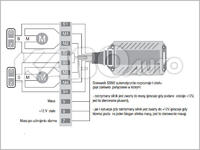 Mitsubishi eclipse spyder GT - moduł domykania szyb ssm2 i oryginalny alarm