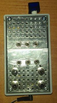 Rozdzielacz audio I-3xJACK / O1-3xJACK O2-2xRC O3-2xRC