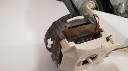 Zmywarka Bosch SRV55T43EU/01 - silnik pompy myjącej buczy, czy da się uratować?