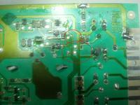 Candy Nowa CNE 85TS - uszkdzony (upalony) moduł