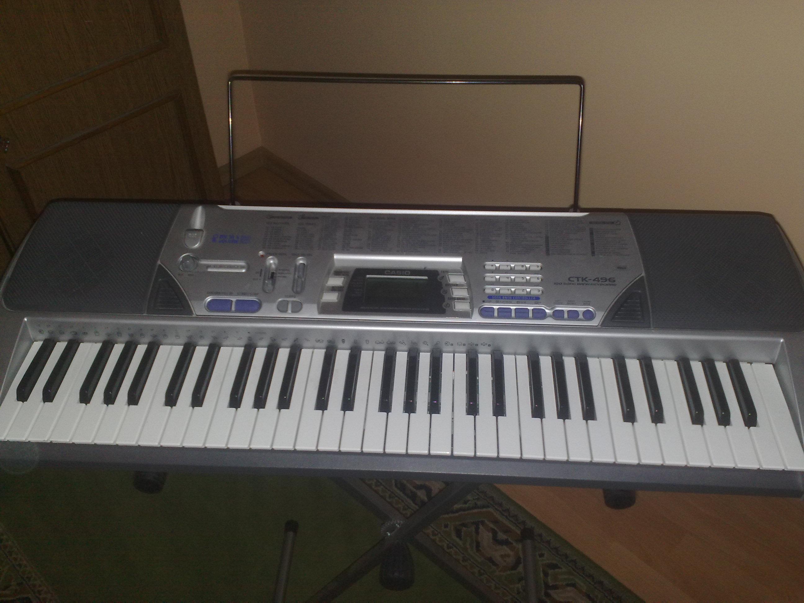 [Sprzedam] Keyboard Casio CTK-496