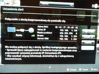TV samsung ue40es5500 - Brak połączenia z internetem wifi
