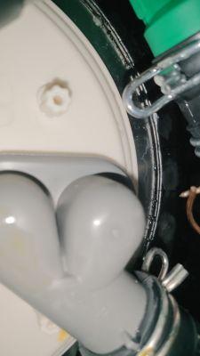 Zmywarka Ikea HJALPSAM - Wyciek z misy dolnej