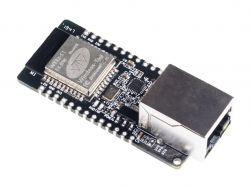 Kompaktowy moduł z ESP32 i interfejsem Ethernetowym