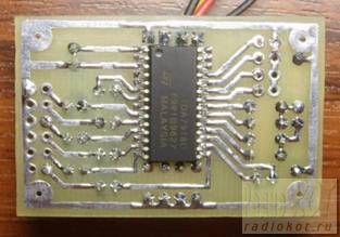 Procesor audio - trzy warianty na TDA7313, TDA7318, TDA7439