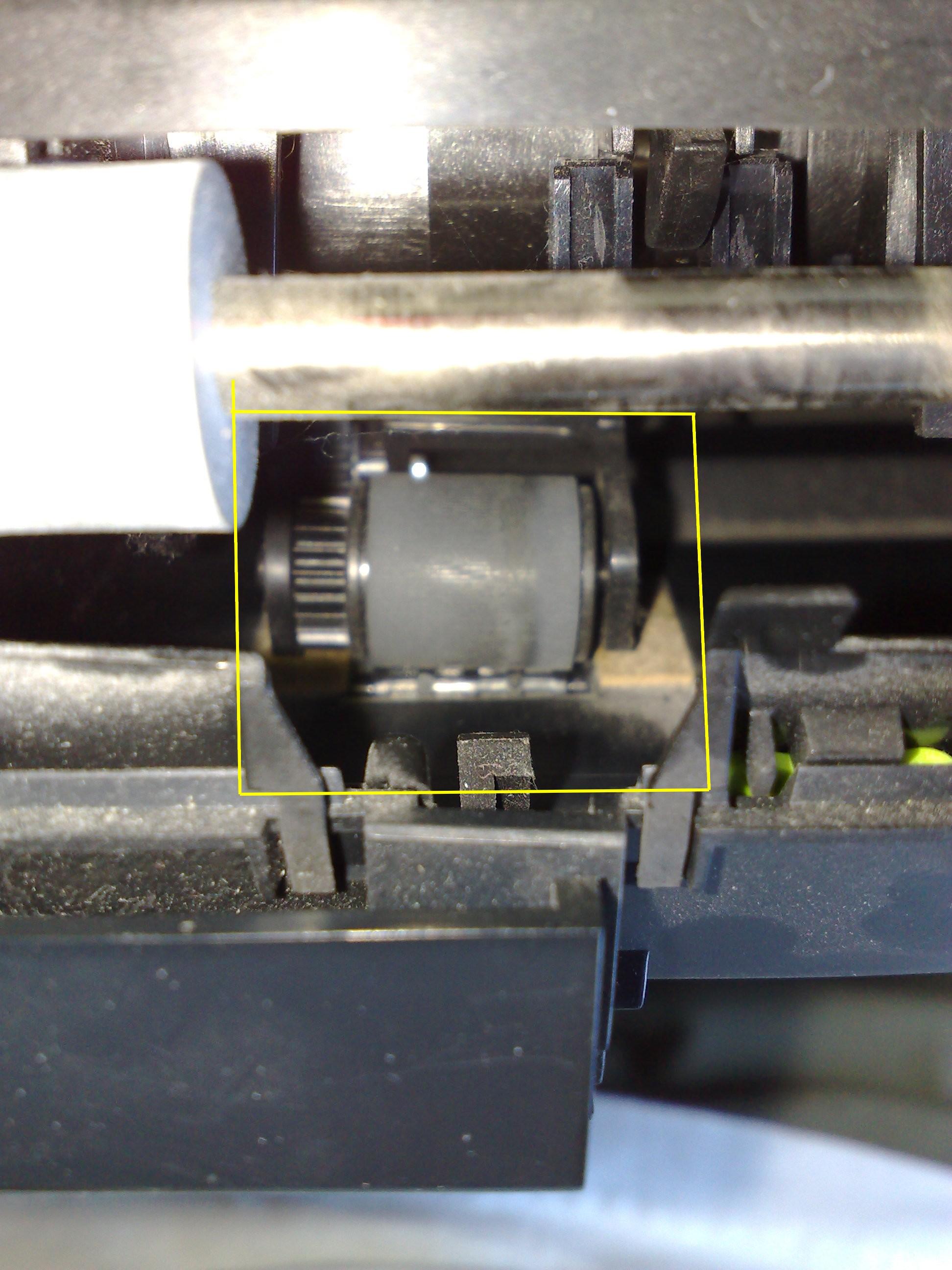 hp 5740 wci�ga zawsze po 2kartki papieru