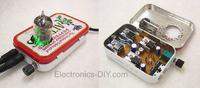 Hybrydowy wzmacniacz słuchawkowy na ECC82