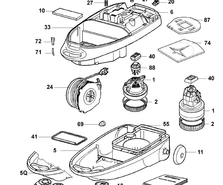 Proszę o poradę w sprawie odkurzacza Elektrolux Mondo Z1161