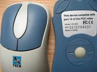 Wyprowadzenia z myszy A4 TECH model: OK-820 ?