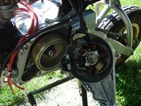 Ładowanie akumulatora - silnik Honda Dax