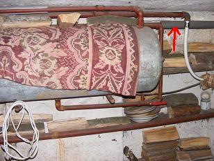 brak cieplej wody z bojlera c.o.