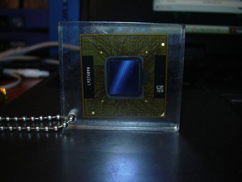 GeForce 9400 w breloczku do kluczy