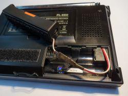Przystosowanie odbiornika Tecsun PL-660 do pracy z ogniwem 18650