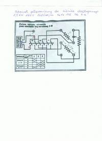 Schemat silnika elektrycznego jednofazowego 1.5 kw