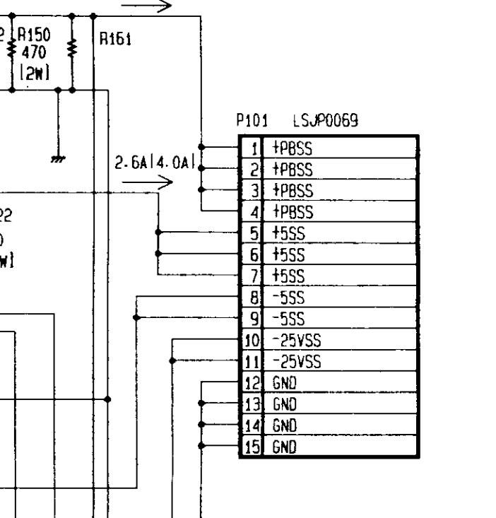 Yamaha PSR 7000 - uszkodzony zasilacz