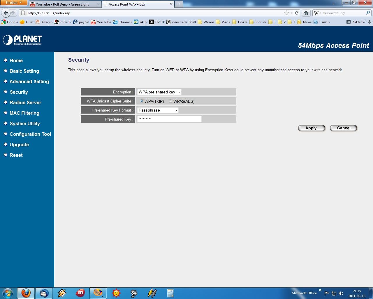 Dekoder tp pod��czony bezprzewodowo do livebox
