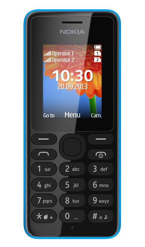 Nokia 108 - klasyczny telefon kom�rkowy z Dual SIM za 29 dolar�w