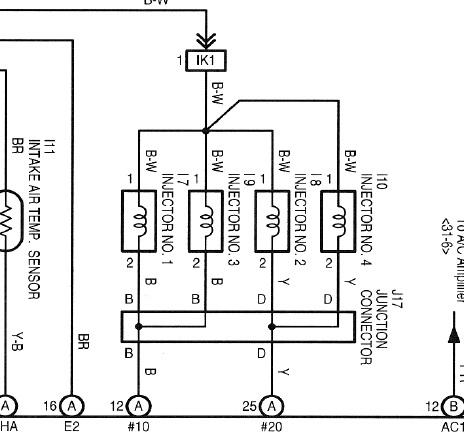 STAG 4plus - Pod��czenie pod wtryski