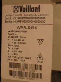 Vaillant Dwufukcyjny - Gaz się załącza mimo ustawienia na minimum