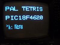 Płytka developerska PIC wyświetlająca obraz na TV (generacja sygnału PAL)