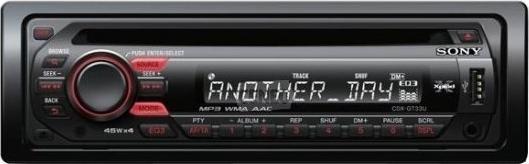 SONY CDX-GT 33U jak ustawi� godzin� na wy�wietlaczu?