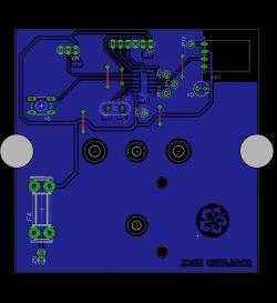 Termometr bezprzewodowy Attiny84, DS18B20, 434MHz