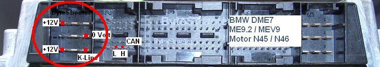BMW E39 2.0 148KM - Szukam schematu pinout sterownika