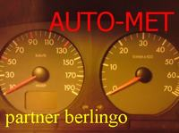 Citroen Berlingo  - Licznik i kontrolki