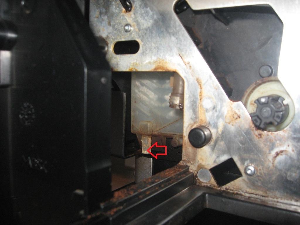 Bosch TCA 6709 Benvenu - woda leci tylko do szuflady