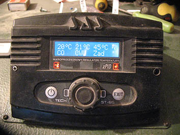 Sterownik ST85 TECH - Alarm wentylator zwarcie lub dmychawa sama si� wy��cza
