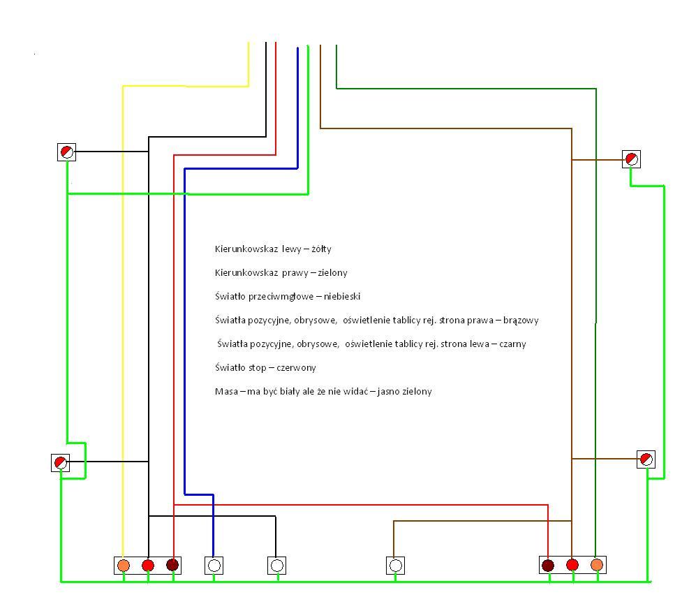 Czy schemat instalacji elektrycznej jest poprawny??