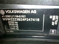 Wątpliwości co do typu posiadanego silnika TDI, VW Passat.