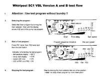 Whirlpool AWM6085/P - jak włączyć tryb serwisowy