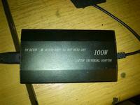 Zasilacz - Uniwersalny do laptopa - opis wej�cia DC 12V