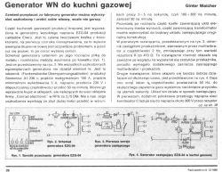 Amica PMG4.0ZR Model: PG6100A-Iskrowniki w płycie kuchennej