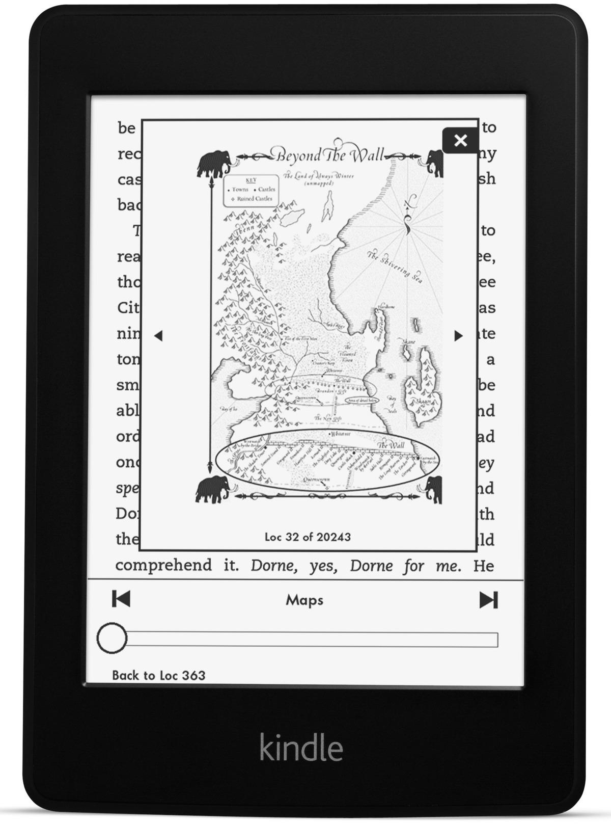 Kindle Paperwhite - 6-tej generacji czytnik z pod�wietlanym ekranem E Ink