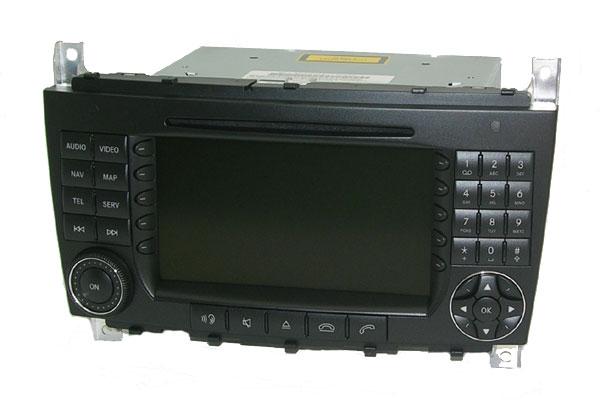Comand APS DX (NTG1 lub NTG2) MENU PL do W211