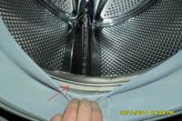 Pralka SIEMENS SIWAMAT XL 528 - demontaż fartucha