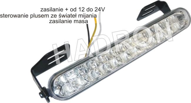 Opel,Astra,F, - Swiatla LED Gasna w czasie jazdy