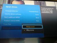 Samsung UE39F5000 - Dolna połówka obrazu ciemniejsza.