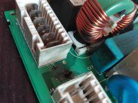 Ariston AVSF109 - błąd F01 coś się pali w module?