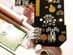 Odłączenie diody LED od wspólnego rezystora