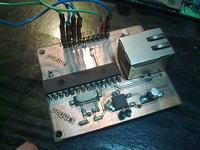 Moduł Ethernet spi enc28j60 (projekt otwarty)