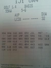 Golf IV 1.4 16V 3d '01 - Brak możliwości otwarcia z pilotów centralnego zamka.