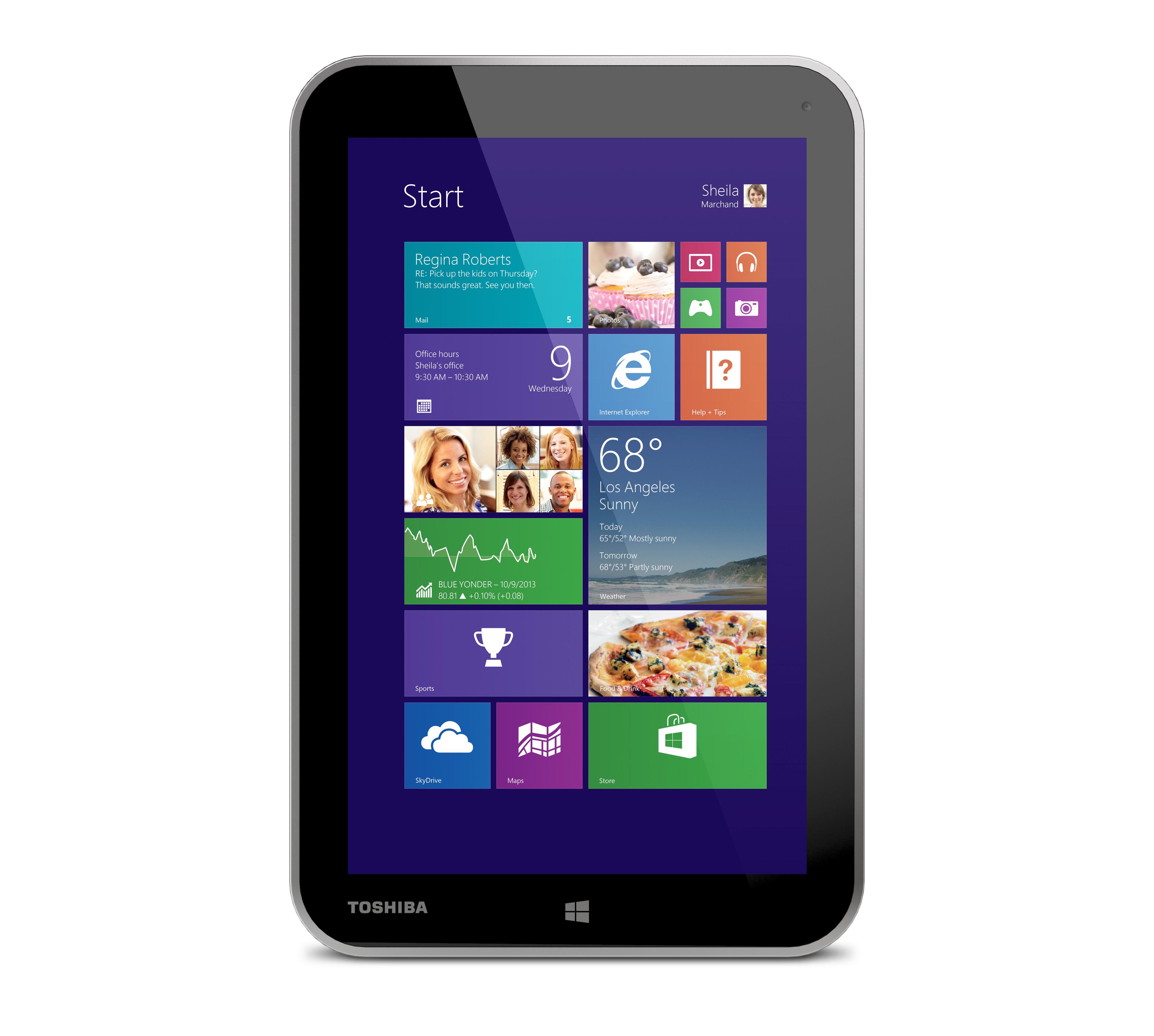 """Toshiba Encore 8 - 8"""" tablet z Atom i Windows 8.1 w przedsprzeda�y"""
