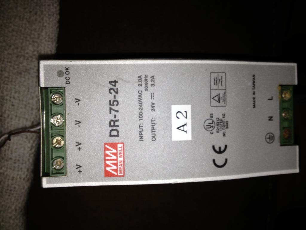 [Sprzedam] Zasilacz Impulsowy DR75-24  In: 220V/2A Out: 24V/3.2A